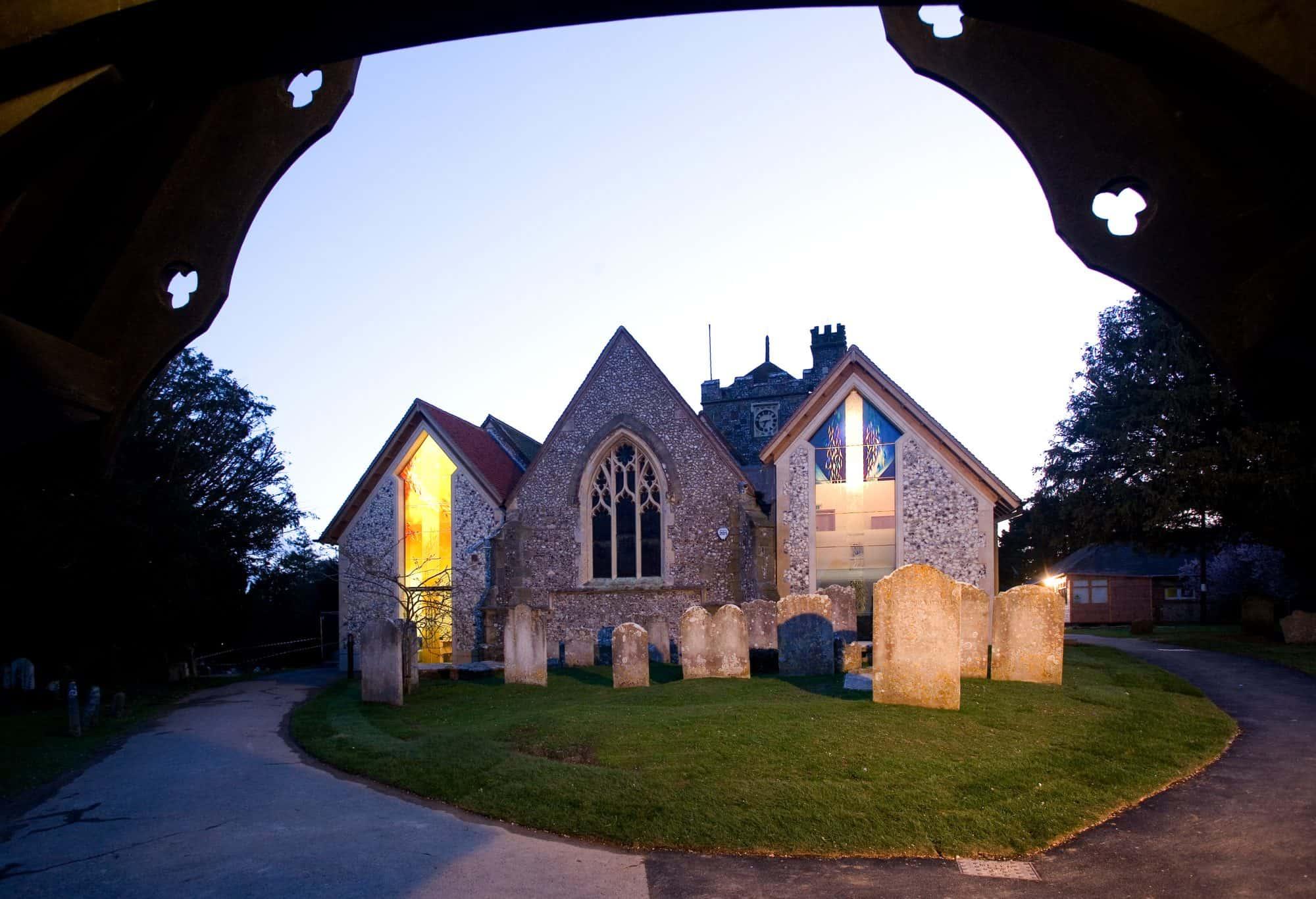 St Margaret\u0027s Church, Angmering - Lee Evans Partnership
