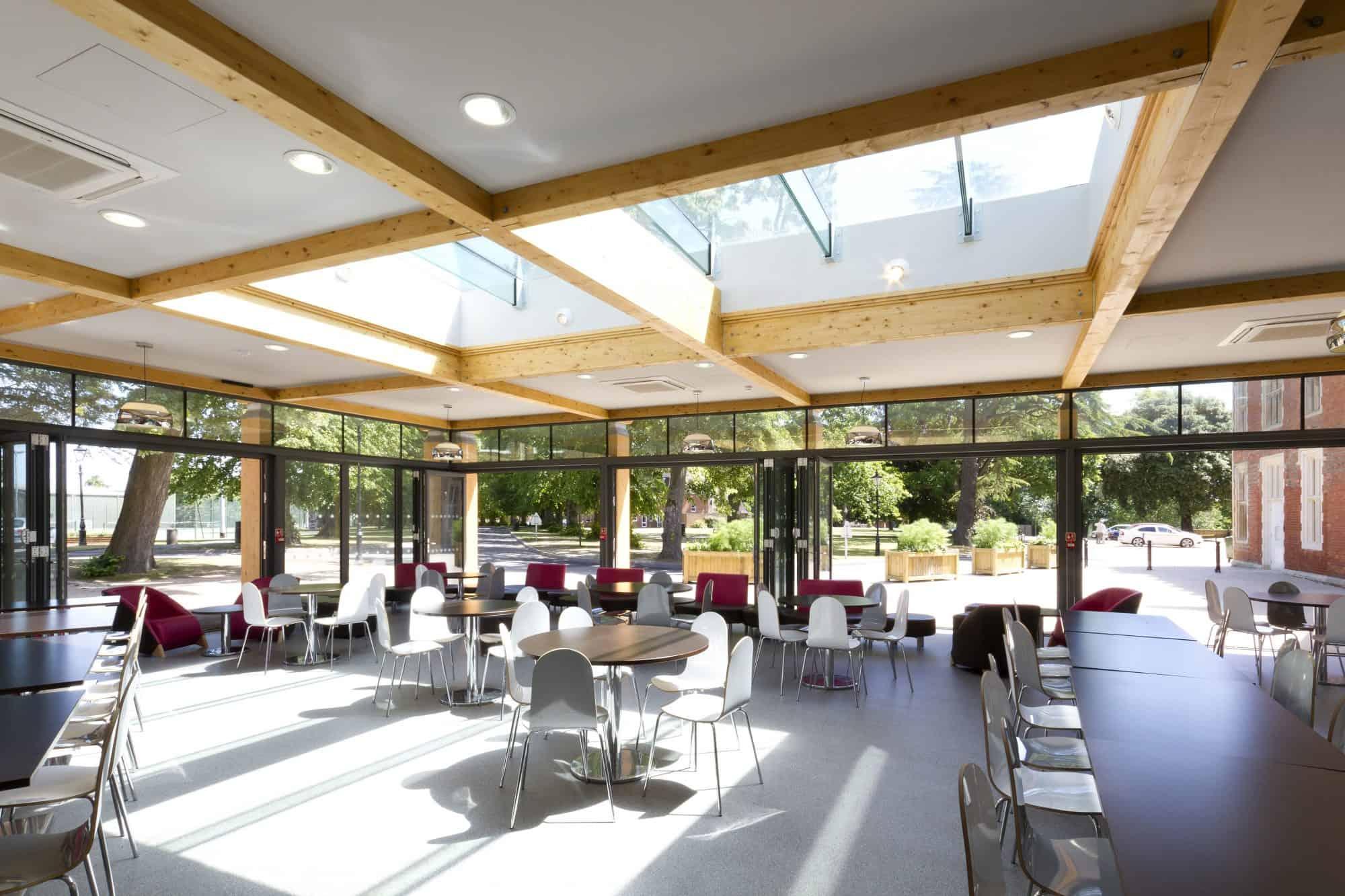 Benenden School Dining Hall Lee Evans Partnership