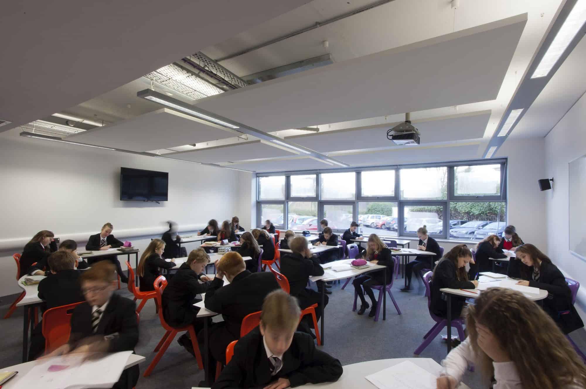 Fulston Manor School Teaching Block Lee Evans Partnership