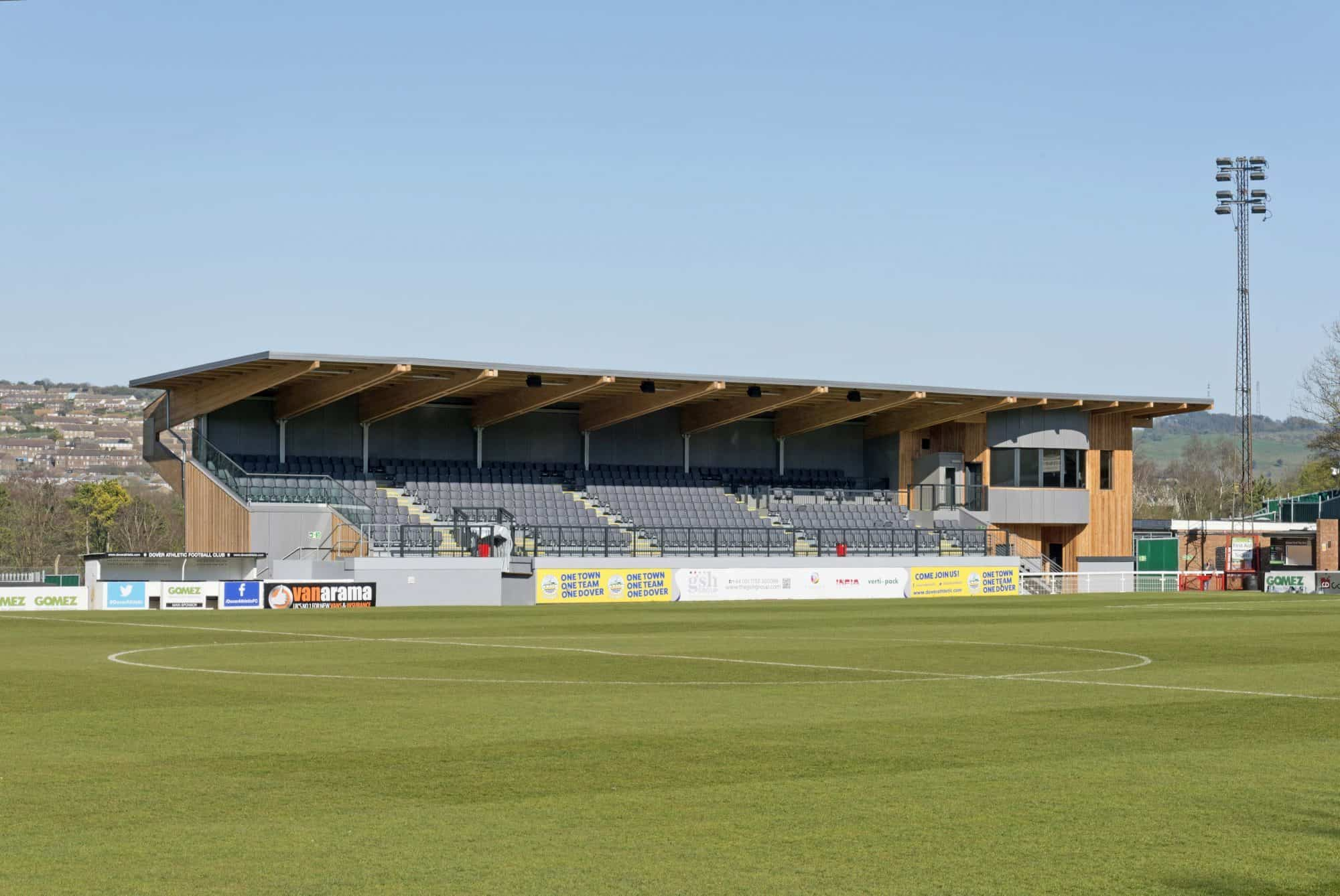 Dover Athletic Family Stand 2