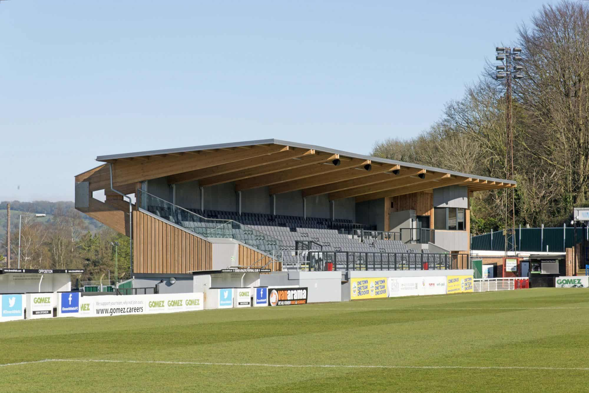 Dover Athletic Family Stand 3