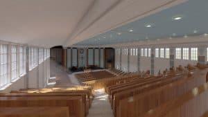 City Temple interior