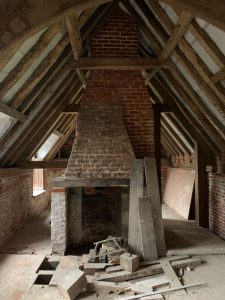 Flint Cottage interior